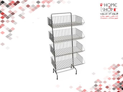 Inclined-4-basket-stand